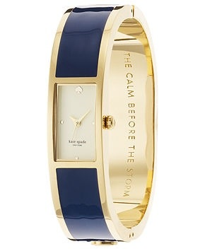 7. Carousel Watch in Navy – Kate Spade